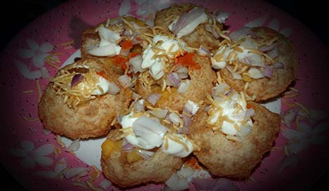 Dahi Puri Recipe in Hindi