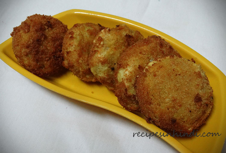 Cauliflower Cutlet Recipe in Hindi