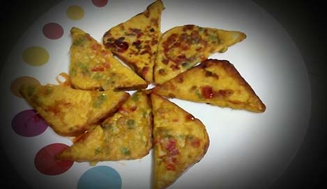 Bread Besan Toast Recipes in Hindi