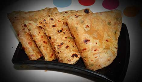 How To Make Onion Paratha Recipe