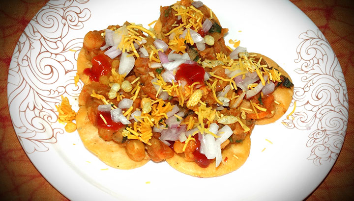 masala papdi chaat recipe in hindi